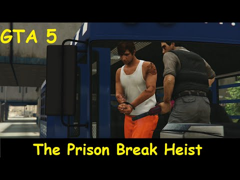 GTA 5 Online Heist - The Prison Break Heist Prisoner Role