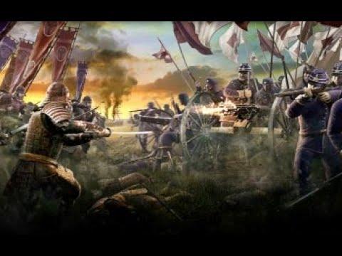 Total War  SHOGUN 2: otomo clan vs British regiment |
