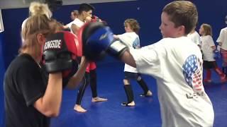 Kids Martial Arts Striking