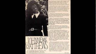Johnnie Mae Matthews, RIP(& Grp) - My Little Angel - 1962 Sue 755..wmv