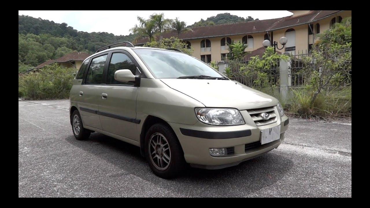 Hyundai hyundai matrix : 2005 Hyundai Matrix GLA (Inokom Matrix) Start-Up, Full Vehicle ...