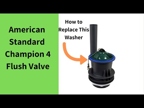 American Standard Champion 4 Toilet Repair (GUARANTEED)
