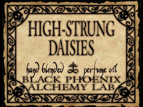 "BPAL ""High Strung Daisies Fragrance"" Review"