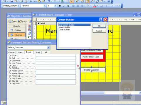 how to run access query in vba