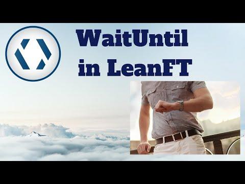 LeanFT Tutorial: LeanFT