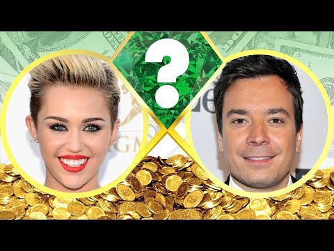 WHO'S RICHER? - Miley Cyrus or Jimmy Fallon? - Net Worth Revealed! (2017)