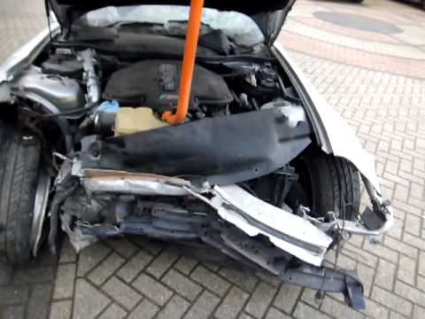Bmw Z8 Roadster Cabrio Hamann Damaged Youtube
