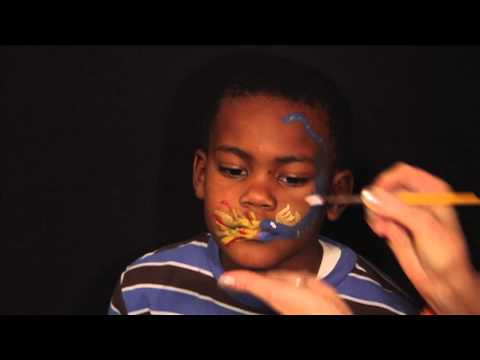 Silly Academy Face Painting Lesson: Dragon