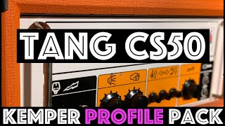 WARNING!! THIS PACK IS ADDICTIVE!! Tang CS50 Kemper Profile Pack!!!