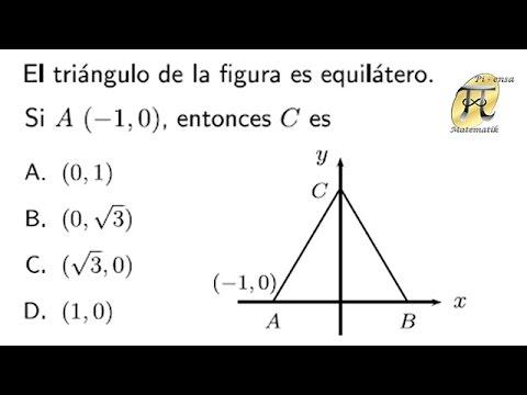 Teorema de Pitágoras - Problema tipo Universidad Nacional de Colombia
