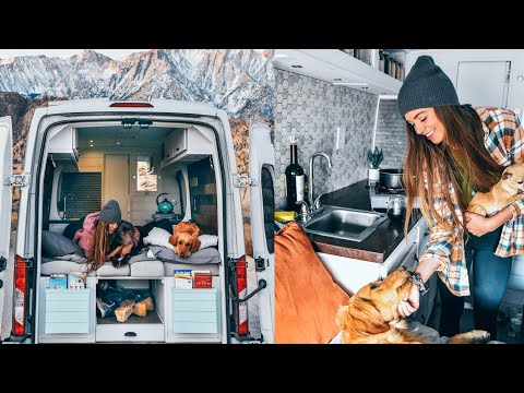 Solo Female Van Tour - From 80 Hour Work Week To Tiny House On Wheels