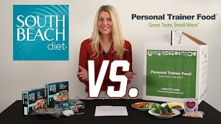 Which Weight Loss Program is Better For You? (Personal Trainer Food vs. South Beach Diet)