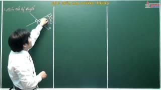 Bài giảng hình học 10 - Chương 3 - Bài 5 - Góc giữa hai đường thẳng