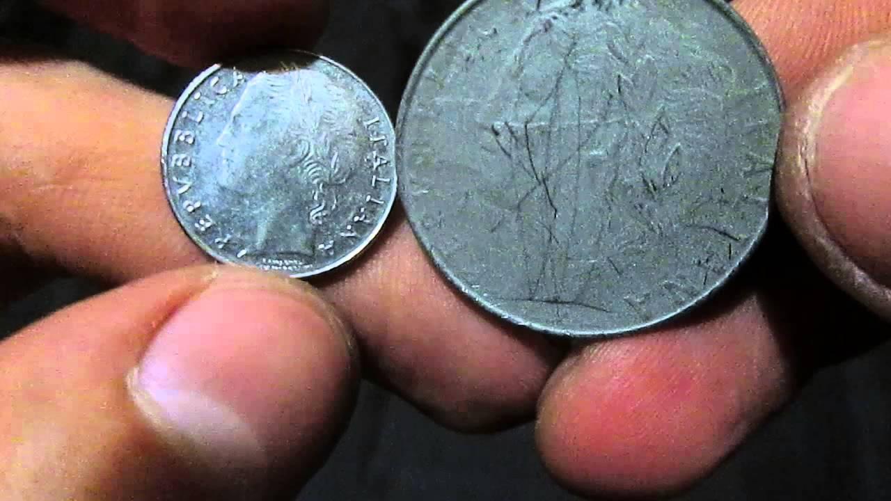 500 итальянских лир в рублях как очищать монеты