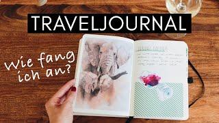 Traveljournal / Reisetagebuch - Kreativität auf Reisen Tips&Tricks