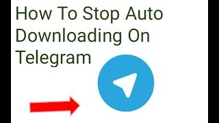 How to stop auto Downloading on telegram | Videos, Images, Audio etc | Stop Auto downloading