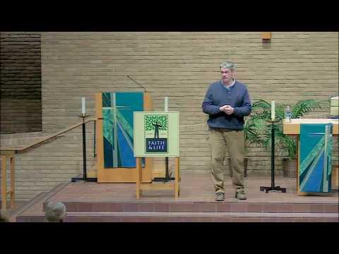 Feb. 1, 2018 - Faith & Life Lecture- Peter Enns