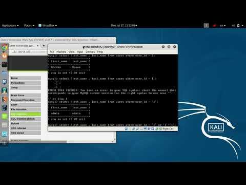 20- Web Attacks - SQL Injection - (Information Retrieval)