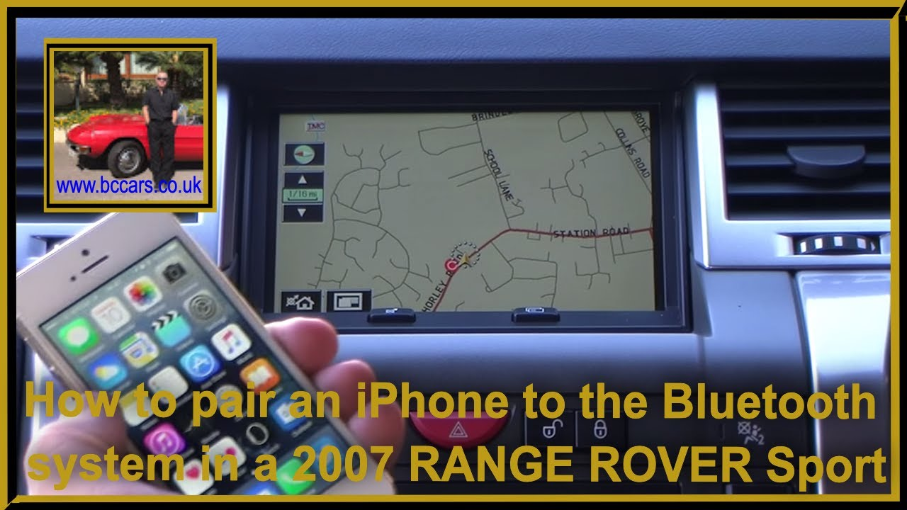 How To Pair An Iphone To The Bluetooth System In A 2007