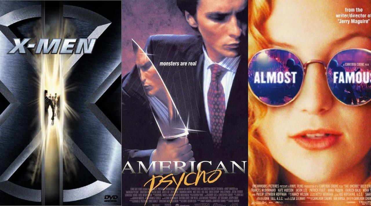 Top 10 des meilleurs films de l'an 2000