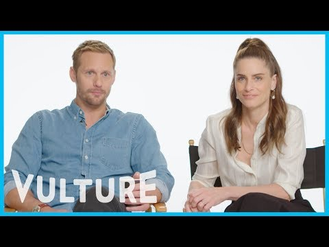 Amanda Peet and Alexander Skarsgard Swap Mortifying Soap-Opera Acting Stories