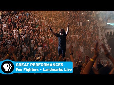 GREAT PERFORMANCES   Official Trailer: Foo Fighters: Landmarks Live in Concert   PBS