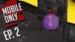 Training & Gaining! MOBILE Only HCIM (Episode #2) OSRS