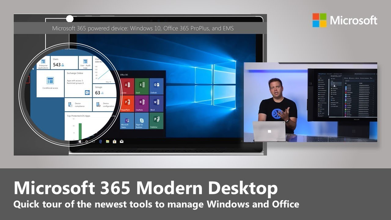 Desktop deployment for Microsoft 365 – Windows 10 & Office 365 ProPlus