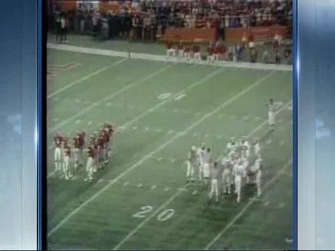 Steve Davis 1975 Orange Bowl footage