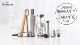 Trudeau Barware collection | Accessoires pour le vin & bar Trudeau