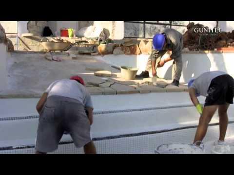 como se construye una piscina youtube