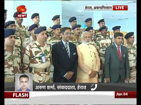 PM Modi intracts with indian consulate in Afghanistan