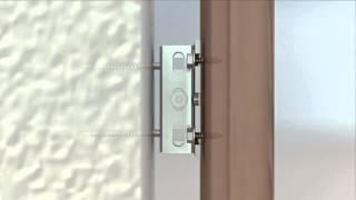 Революционная монтажная система для дверных коробок любого типа REZIDENT KE 3D