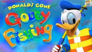 Mickey Mouse Clubhouse Donald's Gone Gooey Fishing Game (Disney Junior) | Kids TV 123 Channel