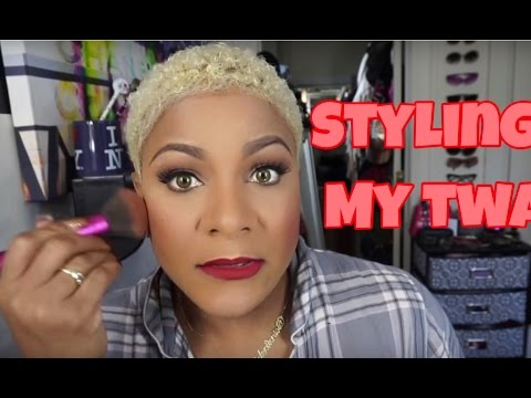hair styling products for short hair how to style curly hair with 2127 | hqdefault