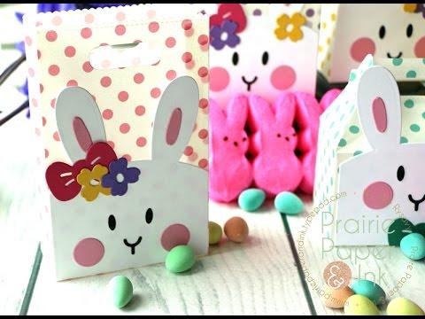 Mama Elephant Bunny Bags   AmyR 2017 Easter Card Series #4