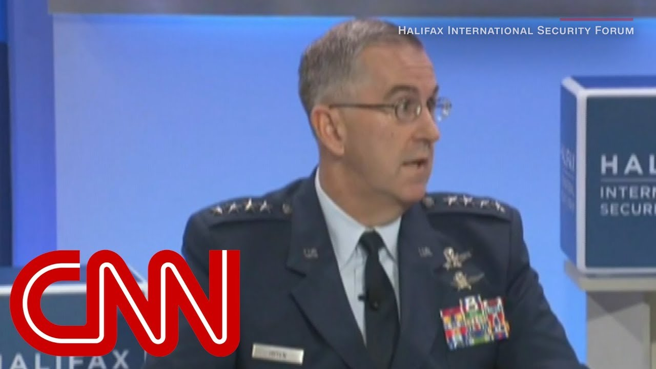 Top general: I'd resist illegal nuclear order from Trump