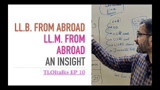 TLOItalks Ep 10 | LL.B From Abroad | LLM From Abroad | Worth It?