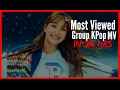 (Top 5) Most Viewed KPop Group MVs in First 24 Hrs