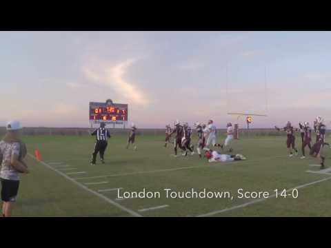 London vs. Marine Military Academy (9/9/16)