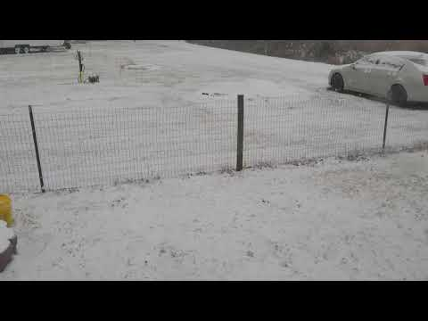 South East Ga snow!... (Pt2) 01-03-2018 // 09:25