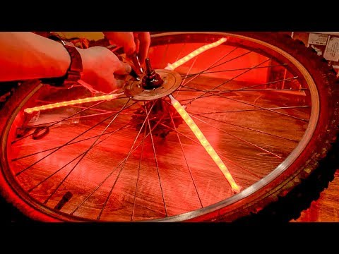 Элементарная Подсветка Колес Велосипеда 🚴 Своими Руками [Совместный Выпуск]