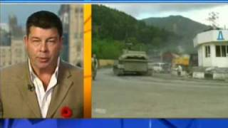 Canada AM: Scott Taylor, Esprit de Corps Magazine, on the conflict in South Ossetia