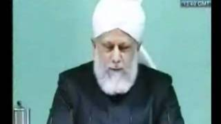 Проповедь Хазрата Мирзы Масрура Ахмада (12-11-10)
