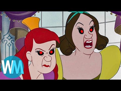 Top 10 F*%KED UP Origins Behind Disney Movies