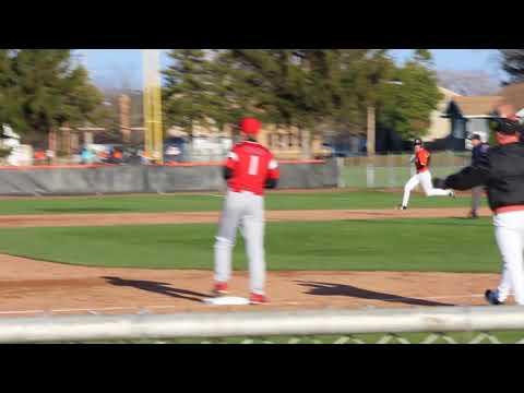 2018 DAC LaPorte Slicers vs Crown Point Chandler Banic Batting