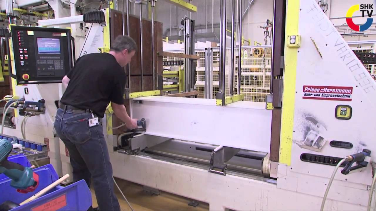 Fabulous SHK-TVmagazin: Villeroy & Boch Badmöbel-Produktion - YouTube DO63