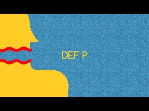 Mensen Zeggen Dingen met Def P