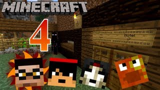 Minecraft Co-Op - Episode 4 - xXLeGoldFishXx  ...The 5-Star Hotel...