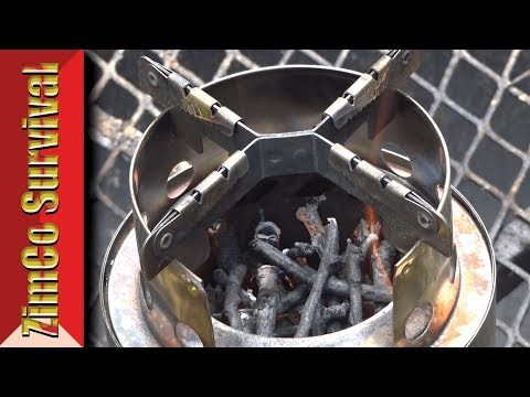 ✔️ *NEW DESIGN* Lixada Wood Gasifier Stove - Review
